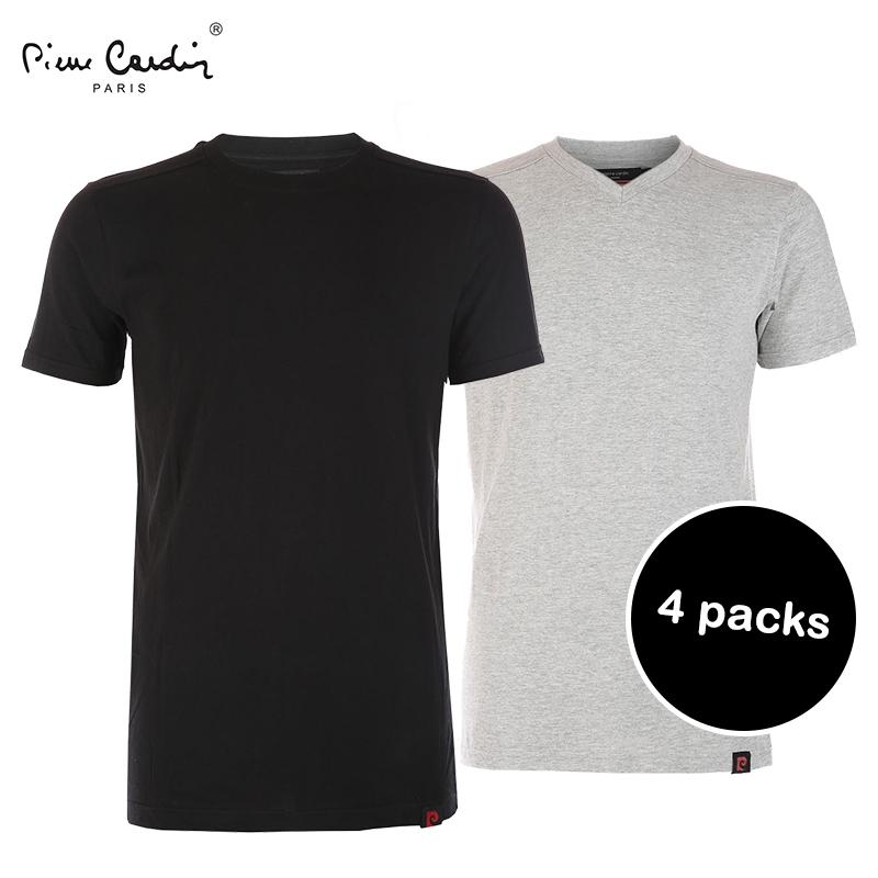 4 Pack T-Shirts van Pierre Cardin