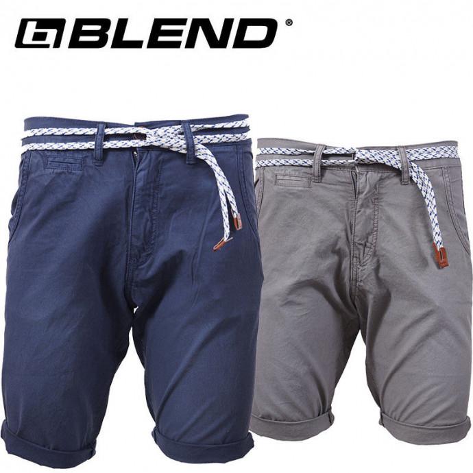 Shorts van Blend met riem