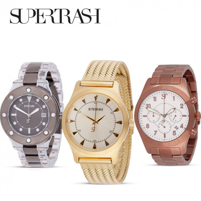 Horloges van Supertrash