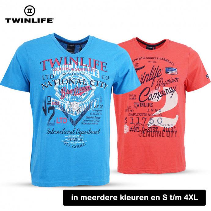 T-shirts van Twinlife