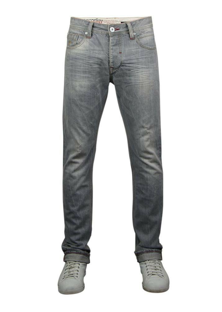6251109 Espen Slimfit Grau Melange