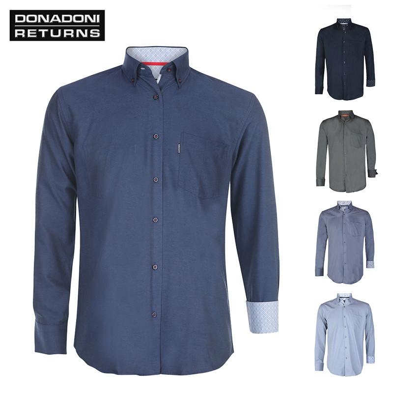 Overhemd Italiaans Design.Italiaanse Overhemden Van Donadoni Returns Elkedagietsleuks Nl