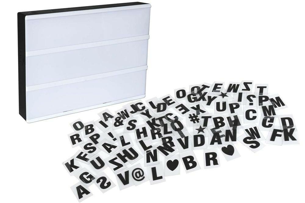Letters Met Licht : Licht box met letters elkedagietsleuks