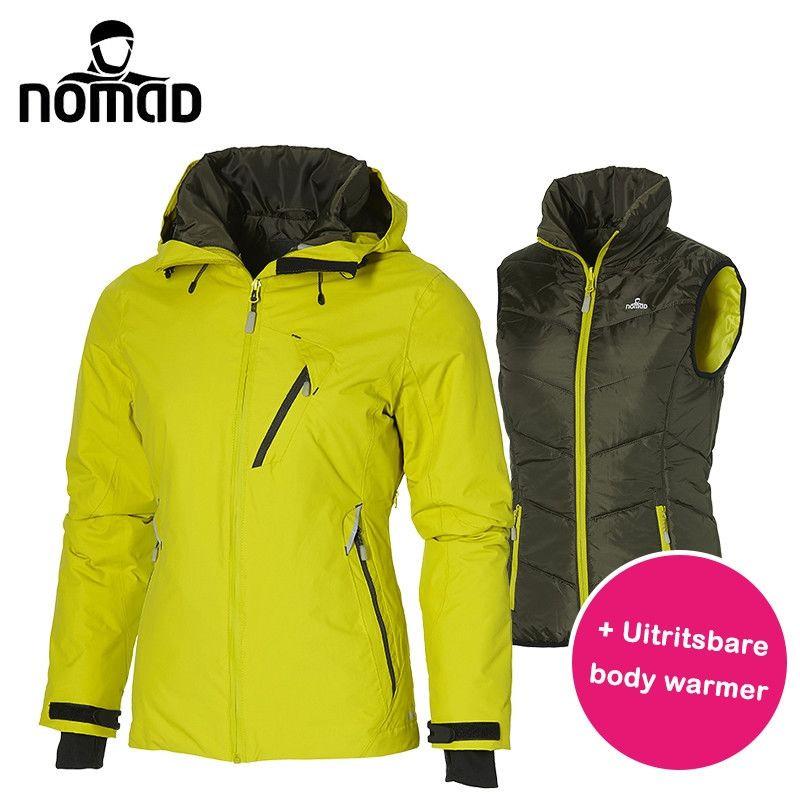 officieel hoe te kopen geweldige kwaliteit Nomad winterjas voorzien van bodywarmer | Elkedagietsleuks.nl